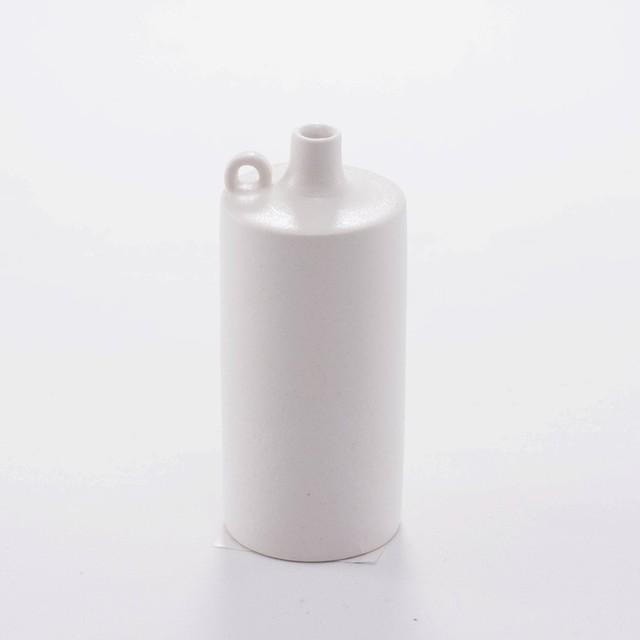 asanomi 花器2400 白 【陶器 一輪挿し】20210621-05