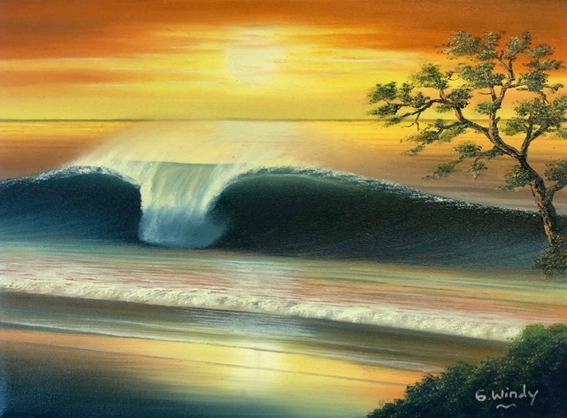 Dreamland Wave Art F4