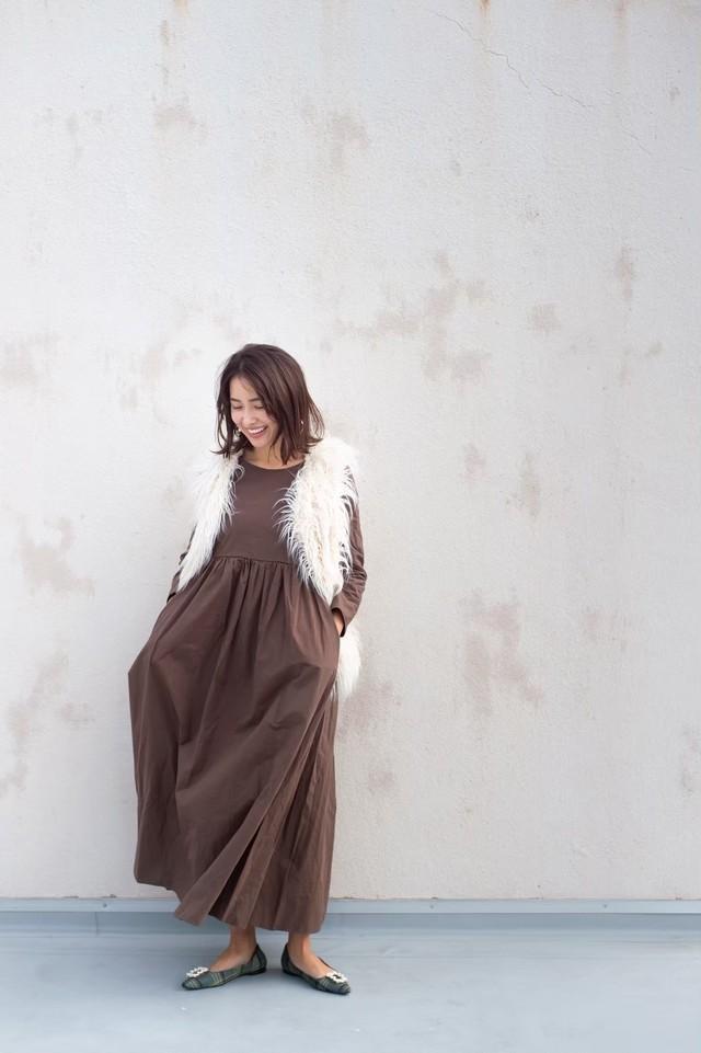 【mama girl掲載】長袖 original 2way dress