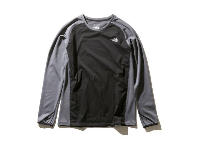 【tnf】 L/S Hybrid Enduro Crew(Mix Charcoal)