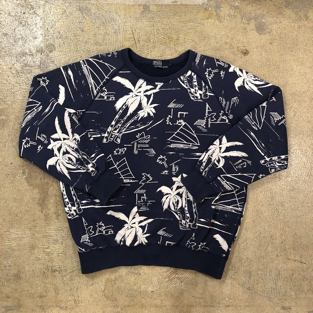 Polo Ralph Lauren Palmtree Sweat ¥13,800+tax