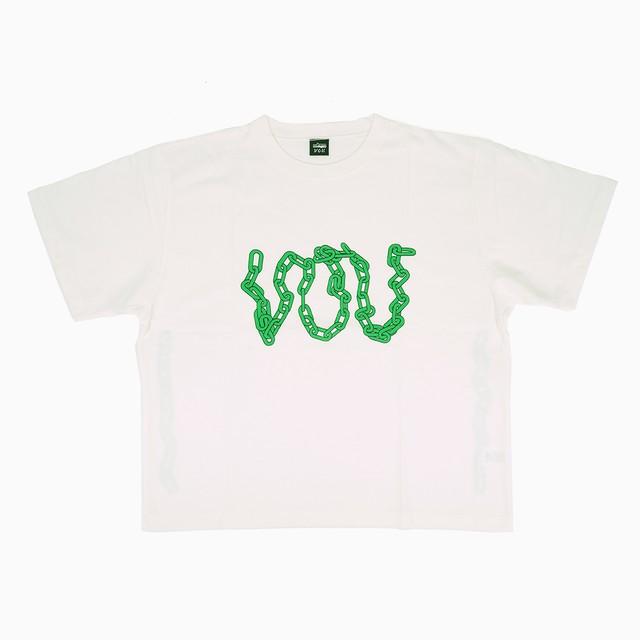 VOU chain logo Tee |  VOU