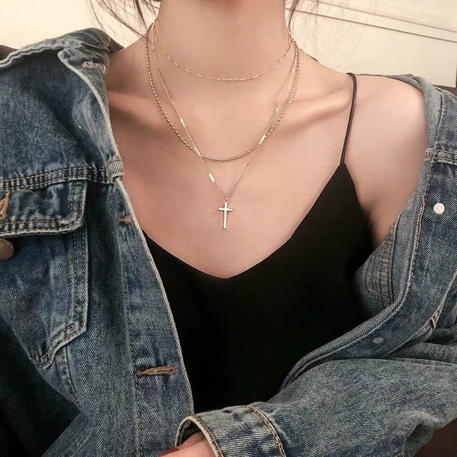 Cross necklace 5224