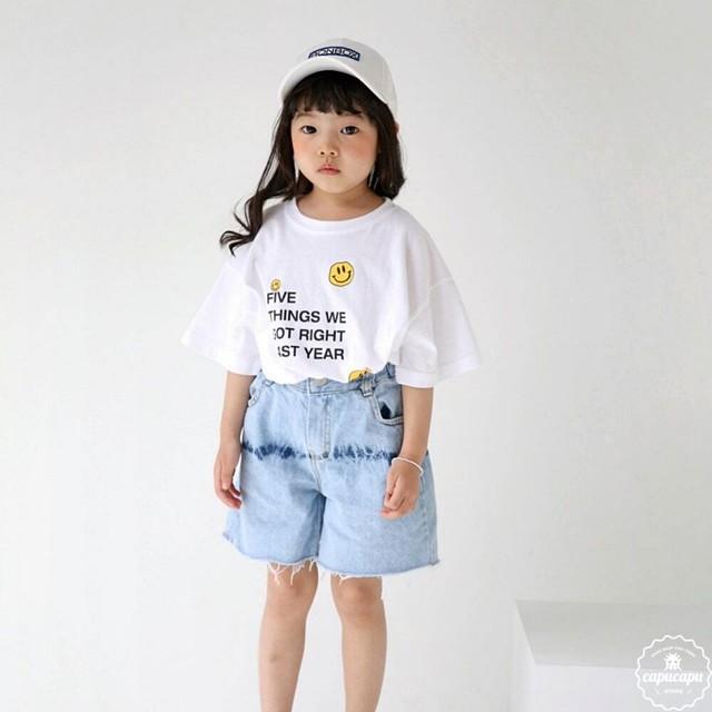 «予約» bubble kiss smile T 2colors スマイルTシャツ