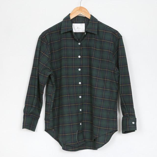 nselection チェックシャツ / GR