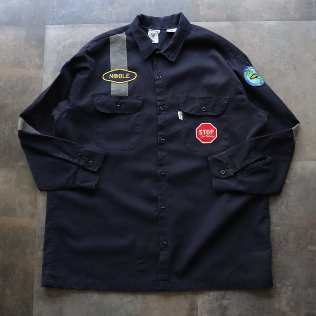 reflector wappen design work shirt