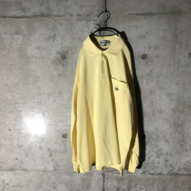 [KENZO] flesh yellow long polo