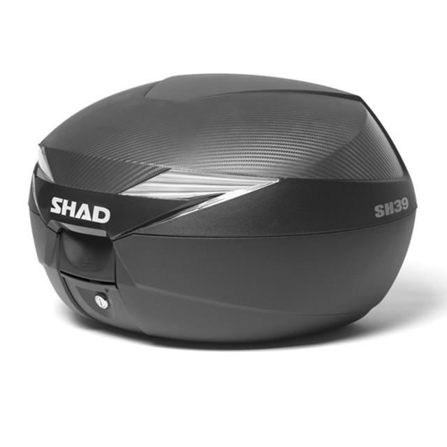 バイク リアボックス ハードケース SH39 リアボックス カーボン