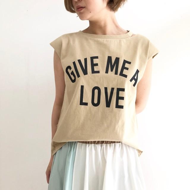 【 DIGNITE COLLIER 】スリットネックTシャツ