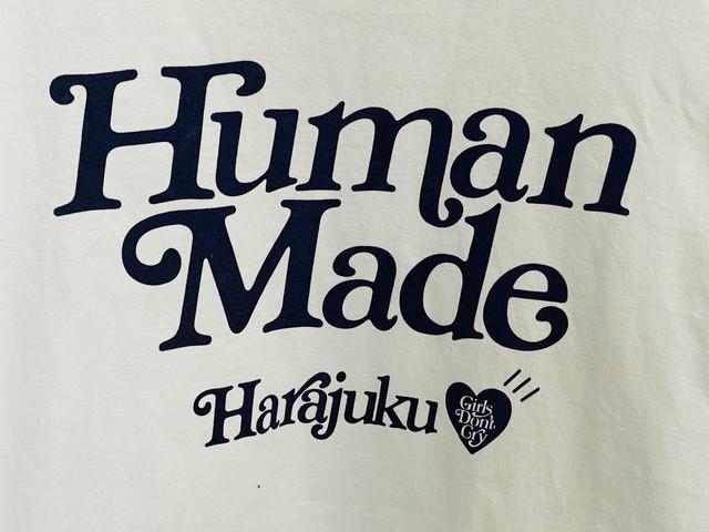 HUMAN MADE × Girls Don't Cry HARAJUKU TEE ♯1 WHITE XL 55JJ0080