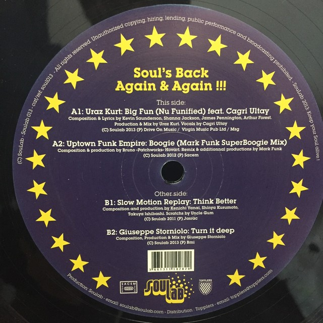 Soul's Back Again & Again !!! / Various