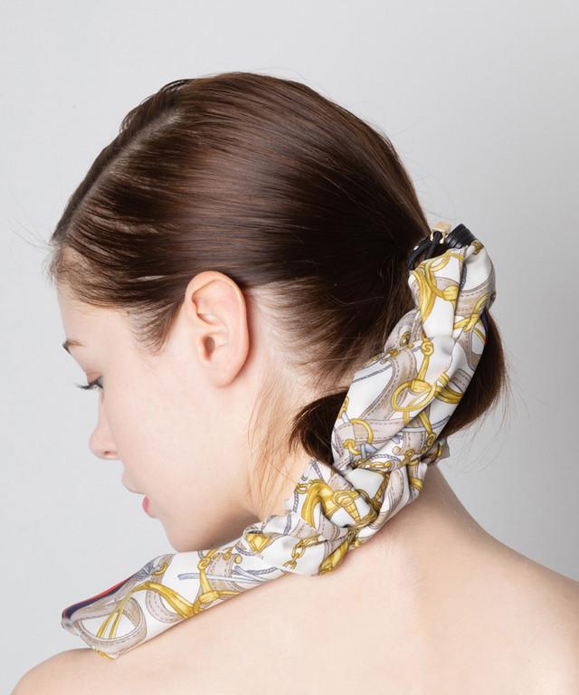Joe19AW-27 scarf button gom (white)