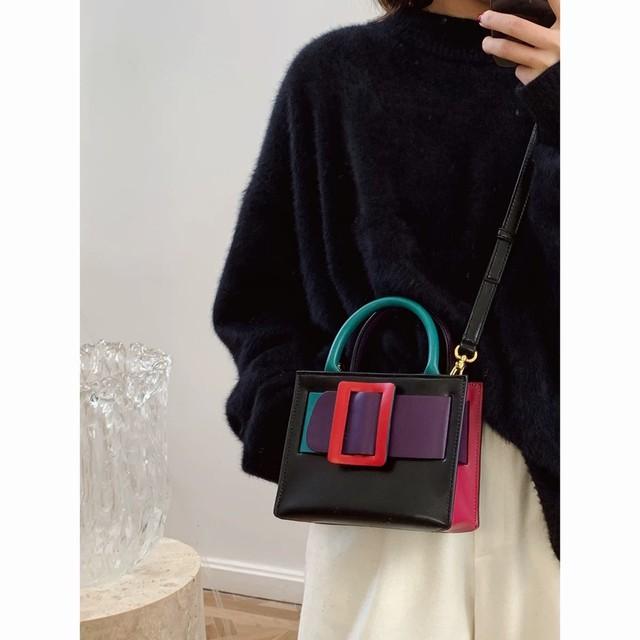 colorful big belt bag