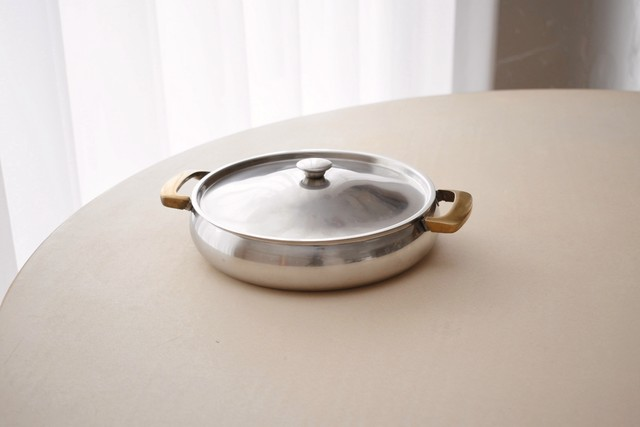 Gense stainless&brass container Y231(Carl-Arne Breger)