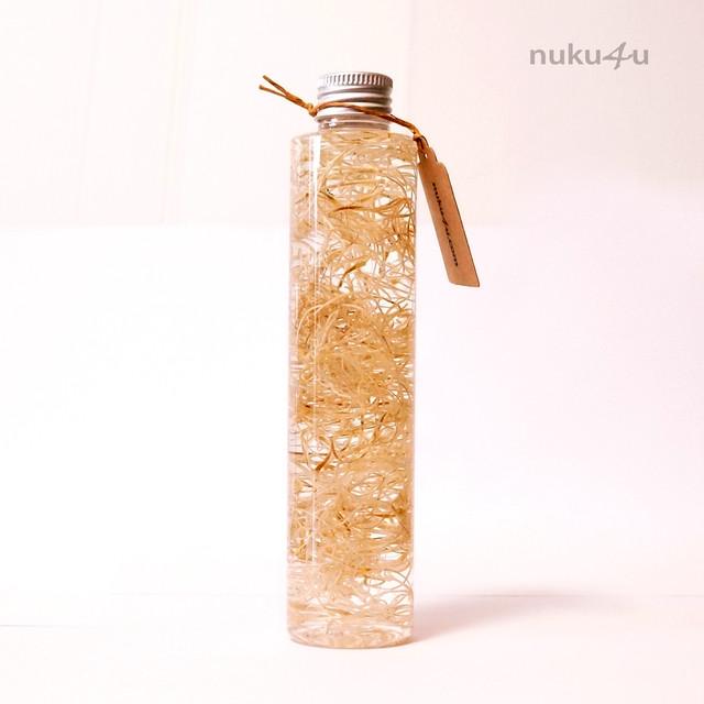 ハーバリウム 200ml PET ボトル【Ichirin】ベージュ #H12BJ001