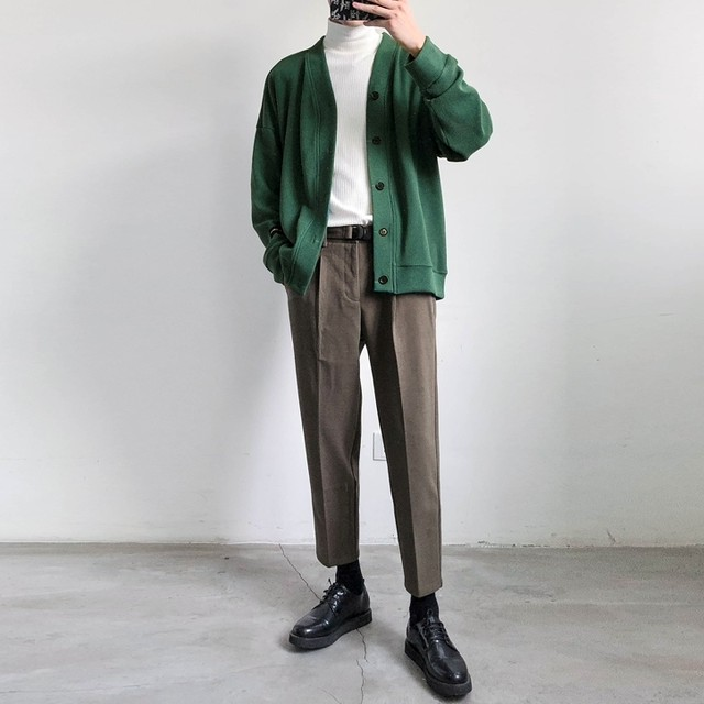 Raglan sleeve cardigan   b-018
