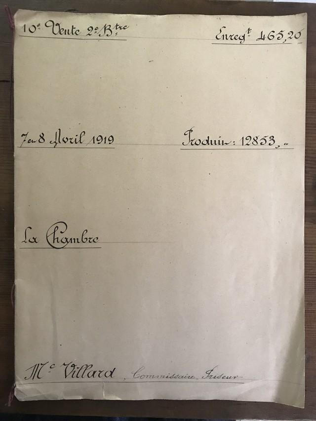 美しいカリグラフィー フランスアンティーク公文書(冊子)
