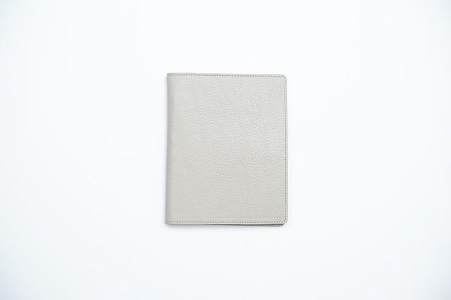【トバログコラボ】レザーパスポートケース - グレー