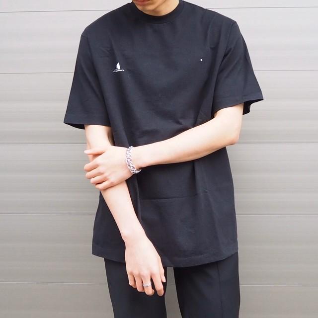 【UNISEX - 1 size】ONEPOINT OVERSIZE TEE / Black