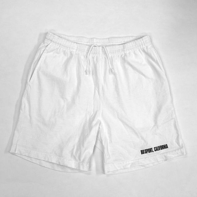 Mid-Length Shorts (White)
