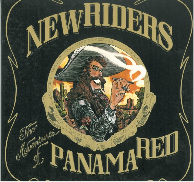 NEW RIDERS OF THE PURPLE SAGE / PANAMA RED (LP) USA 日本盤