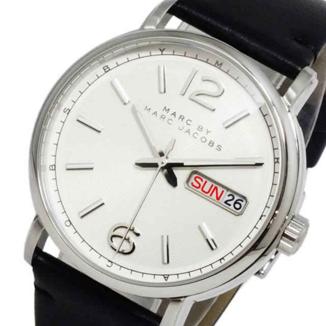 buy popular c6538 72471 マークバイ マークジェイコブス ファーガス クオーツ メンズ 腕時計 MBM5076 | akasobjet powered by BASE