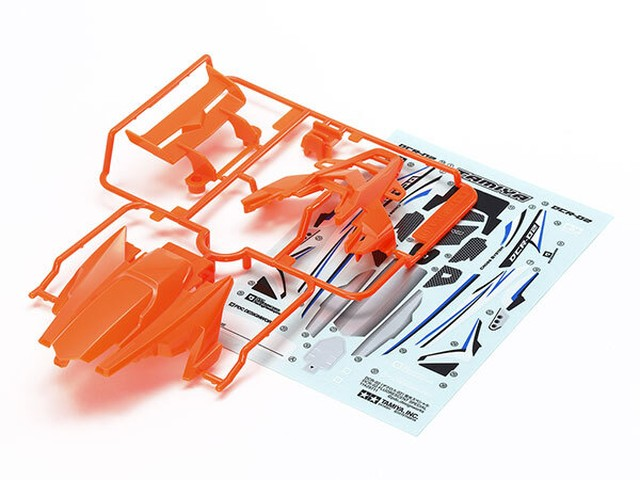 DCR-02(デクロスー02)ボディパーツセット(蛍光オレンジ)