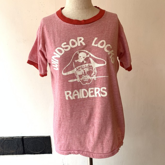 WINDSOR LOCKS RAIDERS Ringer Tee [1115]