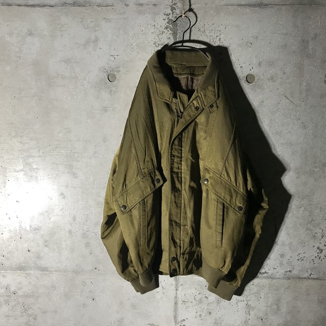 [used]vintage khaki jacket