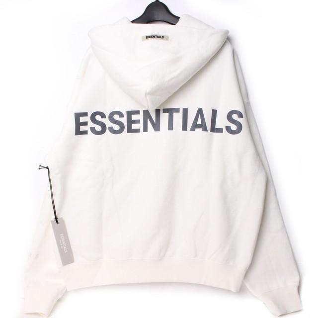 Fear Of God Essentials エッセンシャルズ フーディー ホワイト XS[全国送料無料] r017349