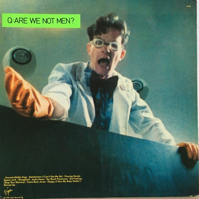 【LP・英盤】Devo / Q: Are We Not Men? A: We Are Devo!