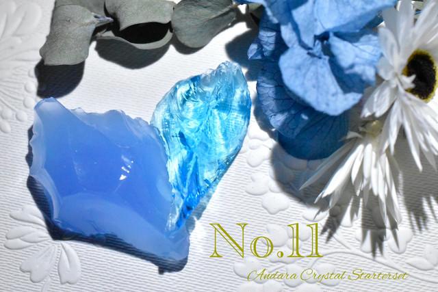 【お買い得】アンダラクリスタル ミニ原石 スターターセット No.11  インドネシア産