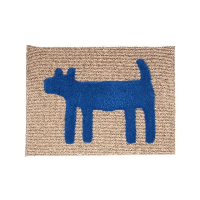 House Doggy Mat(S) ブルー