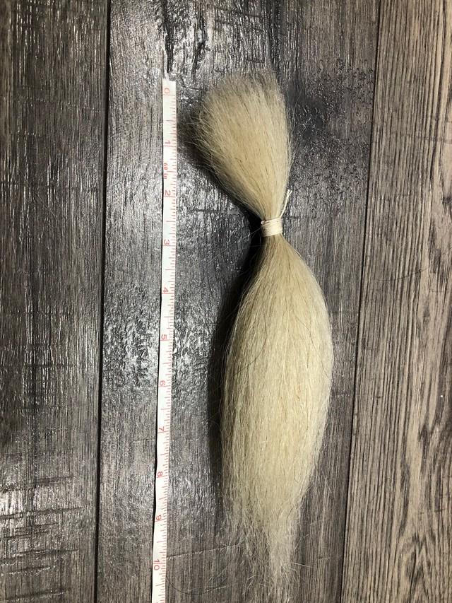 ヤクの毛 黒 約45.5cm(18 nch)