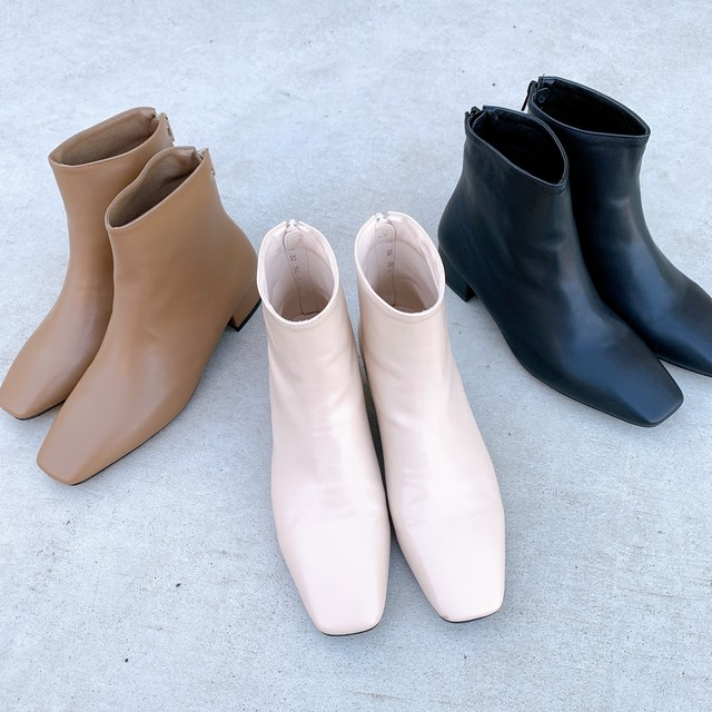square short boots