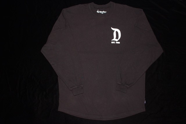Disney spirit jersey black