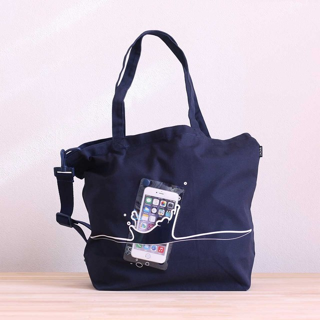 splash BAG +plus(ネイビー)