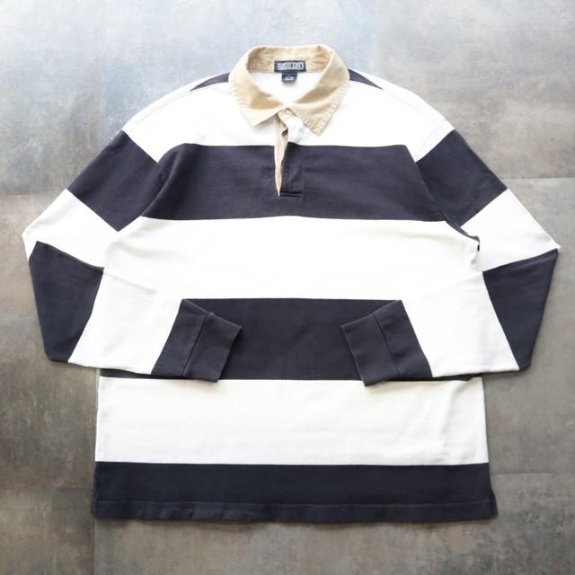 border design rugby shirt