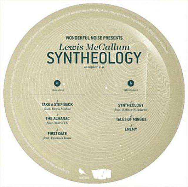 """【残りわずか/12""""】Lewis McCallum - Syntheology Sampler EP"""