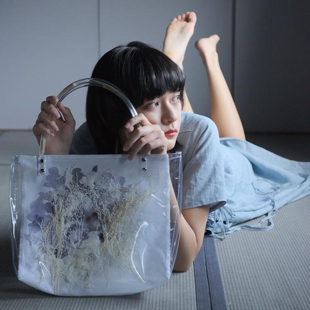 【限定コラボ版】PVC Dry Flower Bag ALTERNATIVE TEXTURE ×yumi taniguchi   | ALTERNATIVE TEXTURE