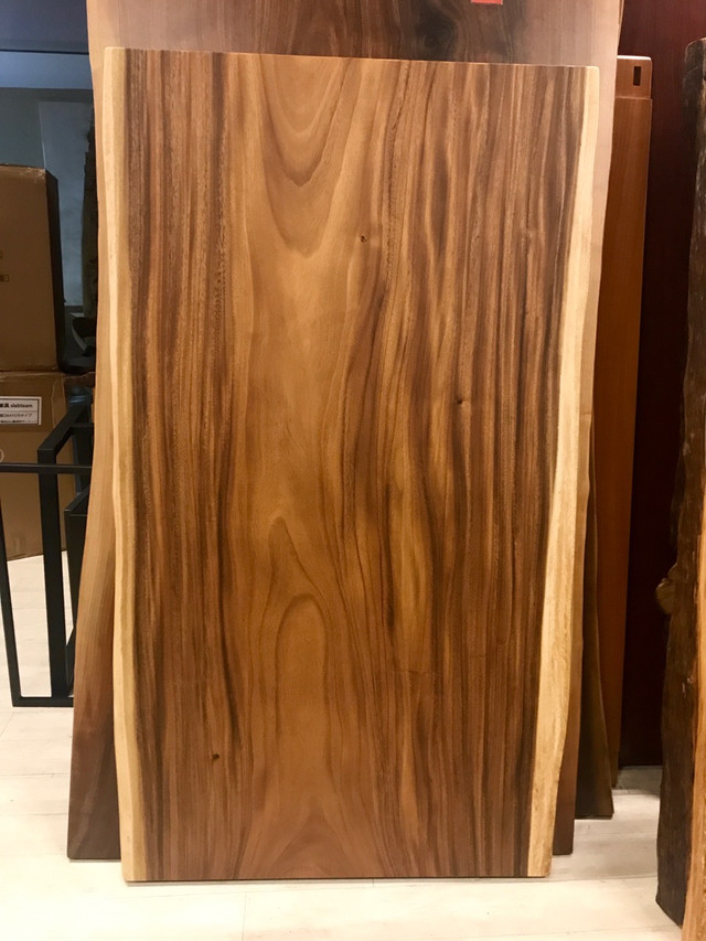 ≪新宿店≫モンキーポッド 一枚板 1500×810-860×55 20985