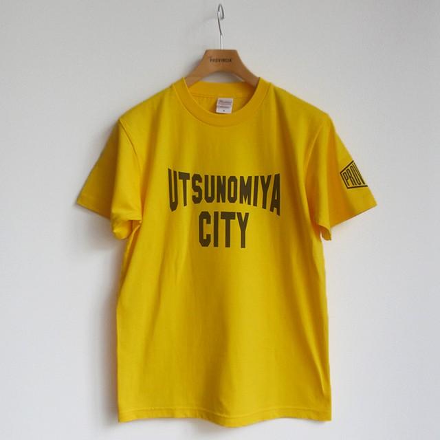 UTSUNOMIYA CITY Tシャツ イエロー