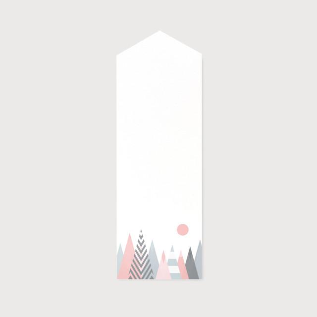 貼る神棚【 北欧 太陽と山々 】