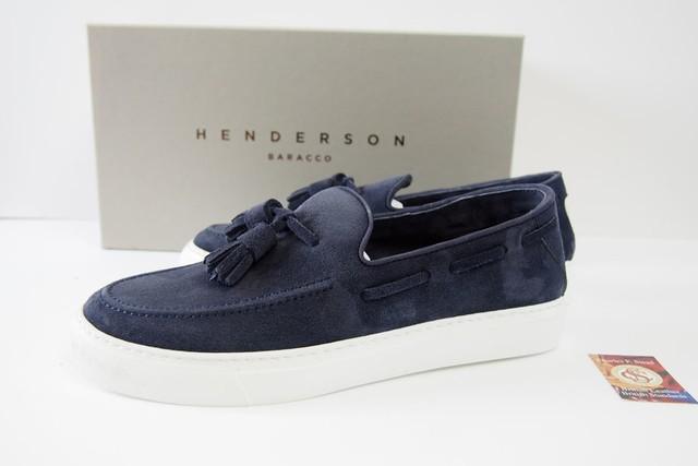 ヘンダーソン|HENDERSON|タッセルスニーカー PAUL.16 |40|ネイビー