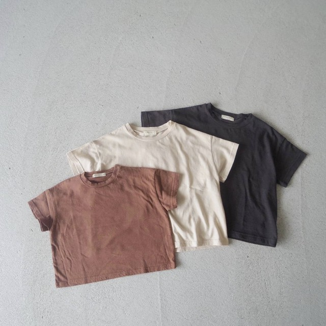 Basic Jr. T-shirt (3color)