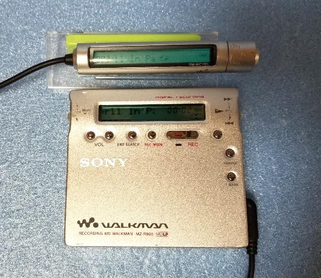 MDポータブルレコーダー SHARP MD-DR7 1BitMD MDLP 完動品