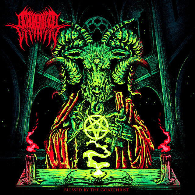 REGURGITATED DIVINITY『Blessed By The Goatchrist』CD