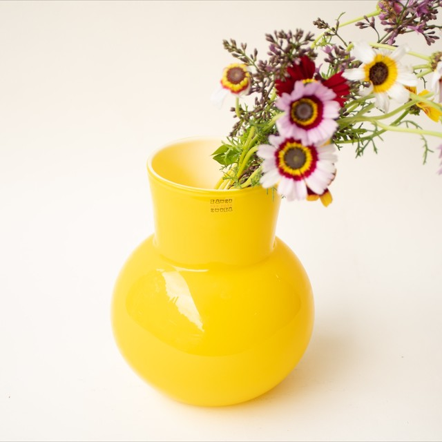 despots Horn vase of glass