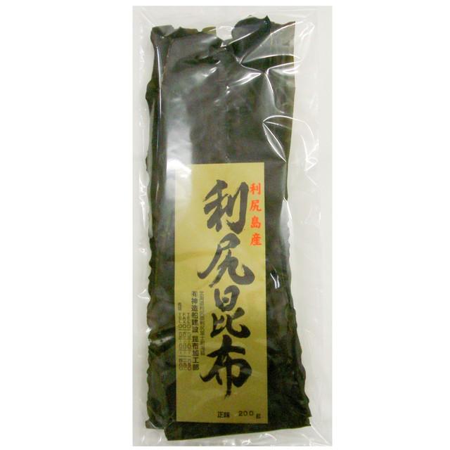 北海道利尻産 養殖花折昆布 3等品