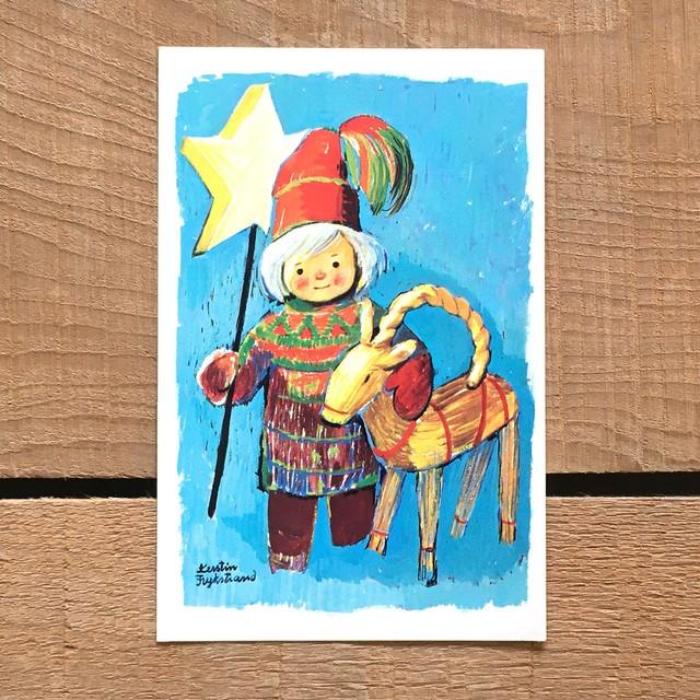 クリスマスカード「Kerstin Frykstrand(シェスティン・フリュークストランド)」《210208-02》
